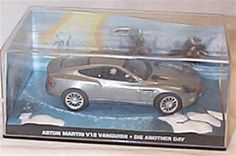 universal hobby james bond 007 die another day aston martin V12 vanquish film scene car 1.43 scale diecast model james bond 007 die another day aston martin V12 vanquish film scene car diecast model brand new displayed in a mint clear case and is in a mint condition this model is pa (Barcode EAN = 5000332011649) http://www.comparestoreprices.co.uk/december-2016-6/universal-hobby-james-bond-007-die-another-day-aston-martin-v12-vanquish-film-scene-car-1-43-scale-diecast-model.asp