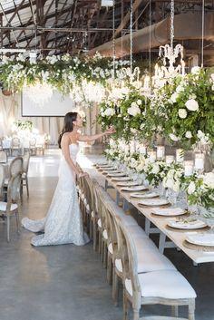 Cody And Allies Stunning Evergreen Brickworks Wedding - Wedding Decor Toronto Rachel A. Luxury Wedding Venues, Wedding Events, Wedding Ceremony, Tent Wedding, Long Wedding Tables, Wedding Destinations, Marquee Wedding, Ballroom Wedding, Wedding Color Schemes