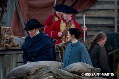 Sam Heughan & Caitriona Balfe | BTS Outlander Season 3 [x]