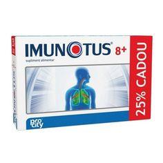 Imunotus 8+ - 8 dz+ 2 dz Gratis -  pentru copii cu vârsta de peste 8 ani, pentru menținerea sănătății tractului respirator, are acțiune de fluidificare a secrețiilor mucoase, îmbunătățește expectorația și menține starea de sănătate a căilor respiratorii, contribuie la funcționarea normală a sistemului imunitar. Personal Care, Self Care, Personal Hygiene