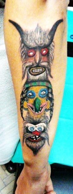 masti romanesti - Google Search Watercolor Tattoo, Tattoos, Masks, Google Search, Tatuajes, Tattoo, Temp Tattoo, Tattos, Tattoo Designs