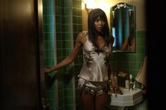 Pin for Later: 80 Gorgeous Pictures From Hotel, American Horror Story's Spookiest Season Yet  Guest star Naomi Campbell as Claudia.