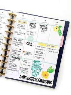 #afterthepen and fully functional in the BIG Happy Planner™ of mambi design Team member Marisa Yciano | me & my BIG ideas