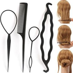 Tools & Accessories Pcs 10pcs Long Stylish Women To Accessories Twist Spiral Spin Set For Black Fashion Hair Clip Hair Medium Pin Great To Enjoy High Reputation At Home And Abroad Clips