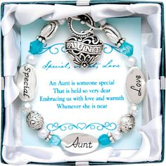 Love your Aunt? This bracelet makes a perfect gift! Buy one for yourself or for…