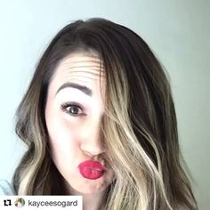 Kaycee's wink Brows, Lashes, Serum, Long Hair Styles, Instagram Posts, Beauty, Feather, Eyebrows, Eye Brows