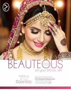 Beauteous look on your Special Day  www.personalityikon.com  #PersonalityIkon #salon #beauty #hair #skin