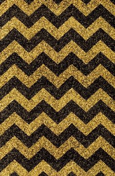 Gold and black chevron