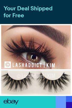 2f0119d8699 Mink Lashes Eyelashes 3 Pairs Wispy Eyelash Extension | Makeup Fur USA  SELLER
