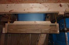 An Elevator for My Storage Shed: 5 Steps (with Pictures) Outside Storage Shed, Storage Shed Kits, Diy Garage Storage, Storage Organization, Attic Storage, Outdoor Storage, Garage Hoist, Garage Attic, Garage Shop