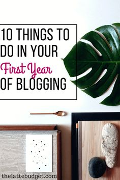Are you a beginning blogger? Not sure what you're doing just yet? That's okay! I had no idea either. Here are 10 valuable things I learned in my first year of blogging. Hope you don't make the same mistakes I did!