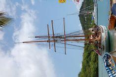 #antigua #boats #dockyard #sailing #ship #yachts