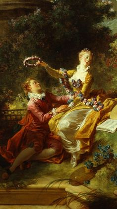 L'amant courronné, Jean Honoré Fragonard Détail Time Painting, China Painting, Chef D Oeuvre, Oeuvre D'art, Jean Honore Fragonard, French Paintings, Rococo Style, Old Art, Ancient Art