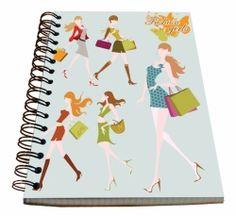 Spirálový blok A5 - FASHION GIRL č. 21289 SPIR5 A5, Girl Fashion, Women's Work Fashion, Girl Clothing