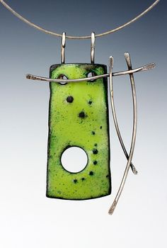 Necklace enamel | Patti Wells Designs