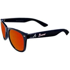 Atlanta Braves MLB Mirror Reflelective Retro Sunglasses