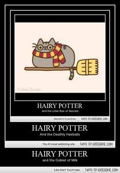 HAIRY PAWTTER AN THE KENNEL OF AZKABAN (let's keep these bad puns going! ^_^)