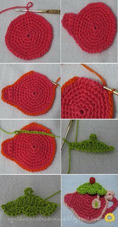 Crochet Tea - Tutorial (Portugues) ❥ 4U // hf