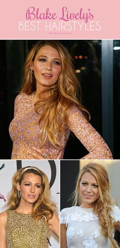 We'll always envy Blake Lively for so many reasons, but the number one reason is probably her gorgeous hair. Here are her best looks. #blakelively #celebrityhair