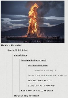 The beacons are lit!!!
