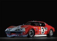 "1968 Chevrolet Corvette ""Scuderia Filipinetti"" Le Mans Race Car, definitely wins the ugly award Chevrolet Corvette, Old Corvette, Classic Corvette, Chevy, 1969 Corvette, Corvette Summer, Le Mans, Pick Up, Sport Cars"