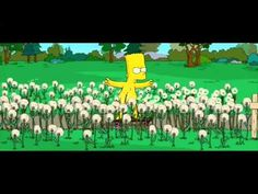 The Simpsons Movie Barts Naked Dare - YouTube