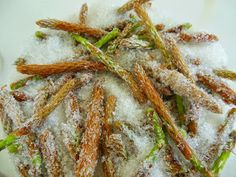 Asparagus, Green Beans, Vegetables, Food, Syrup, Studs, Essen, Vegetable Recipes, Meals