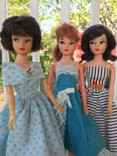 My Suzette Dolls Wearing Wigs, How To Wear A Wig, The Brunette, Natural Redhead, Vintage Barbie Dolls, Barbie Friends, Brunettes, Fashion Dolls, Redheads