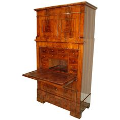 Danish Biedermeier Secretary Desk, Late 18th c