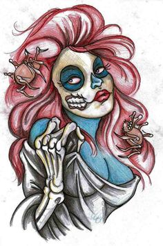 Old Schools Pin Up Flash | Zombie pinup by SimonValentine on DeviantArt