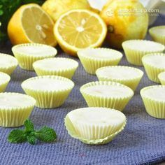 Easy Lemon Fat Bombs (low-carb, keto, paleo, dairy-free, vegan)