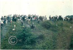 Zawody motokrosowe o randze wojewódzkiej na Georgshutte.Lata 70 XX wieku.( fot.ze zbiorów Henryka Nikisza)