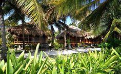 Oceanview Cabana - St. George's Caye Resort, Belize. www.click2xscape.com