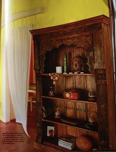 "Celebrations Decor - An Indian Decor blog: ""Indian Homes"" :""Small Cottage,Striped Down"" # 2"