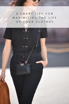 8 Smart Tips for Maximizing the Life of Your Clothes via @PureWow