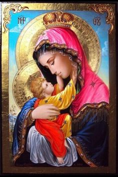 ~J    JESUS and Mother MARY