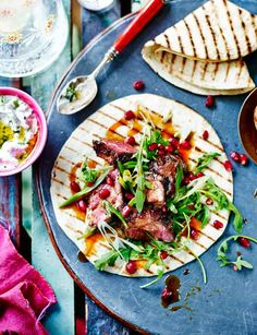 Persian spiced lamb wraps http://www.sainsburysmagazine.co.uk/recipes/mains/lamb/item/persian-spiced-lamb-wraps