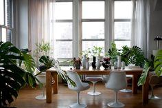 Big #Wooden #Table | Like #70s | #Retro #Design | Manhattan, New York