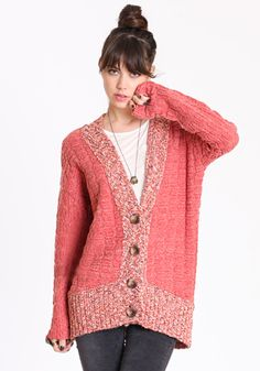 There's something about a lumpy grandma sweater that I just love.