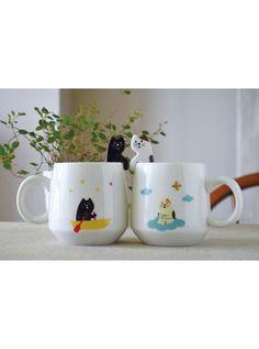 Kigurumi Shop | Cat Mug and Spoon - Animal Onesies & Animal Pajamas by Sazac