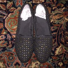 Studded Slips Questions accepted! Shoes Flats & Loafers