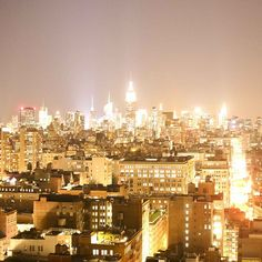 #NewYorkCity, the city made of gold.  Penthouse View from the Wed night scene hosted by @Tommy ☺ Saleh  (at Mondrian SoHo)