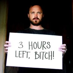 Almost time for the Breaking Bad finale. 3 hours left, bitch!