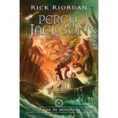 Livro - O Mar de Monstros - Coleção Percy Jackson e os Olimpianos - Vol. 2