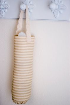 A Few of My Favorite Things: Sewing Project #2 - Grocery Bag Holder