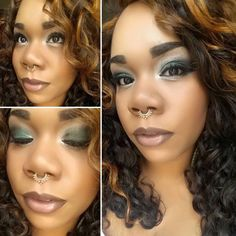This is ysista Zeva's #fotd #motd... All the products used are Younique. www.beautybysj.com EYES: Addiction Palette #2 (Preppy) and #1 (Elated and Sincere), Splurge Cream Shadow in Assertive, Precision Pencil in Perfect FACE: Liquid Touch Foundation in Charmeuse, Perfecting Concealer in Cashmere, BB Flawless in Cream (highlight under my eyes),Beach Front Bronzer in Sunset (Side under eye) and Malibu (Cheek Bone) LIPS: Precision Pencil in Proper and Lucrative Lipgloss in Luxe www.beautybysj