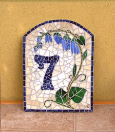 house number mosaic?