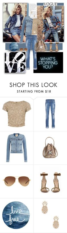 """""""Sparkle A Little"""" by jacque-reid ❤ liked on Polyvore featuring Anja, Alice + Olivia, Dsquared2, Paige Denim, Ralph Lauren, Coach, Gianvito Rossi, Modern Vintage and Sole Society"""