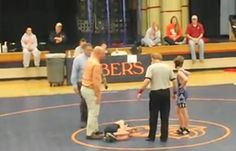 12-Year-Old 'Throws' Wrestling Match So Boy With Cerebral Palsy Can Win (VIDEO) stuff like this makes me have faith in humanity.