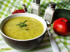 Ala piecze i gotuje: Zupa z cukini z jabłkiem